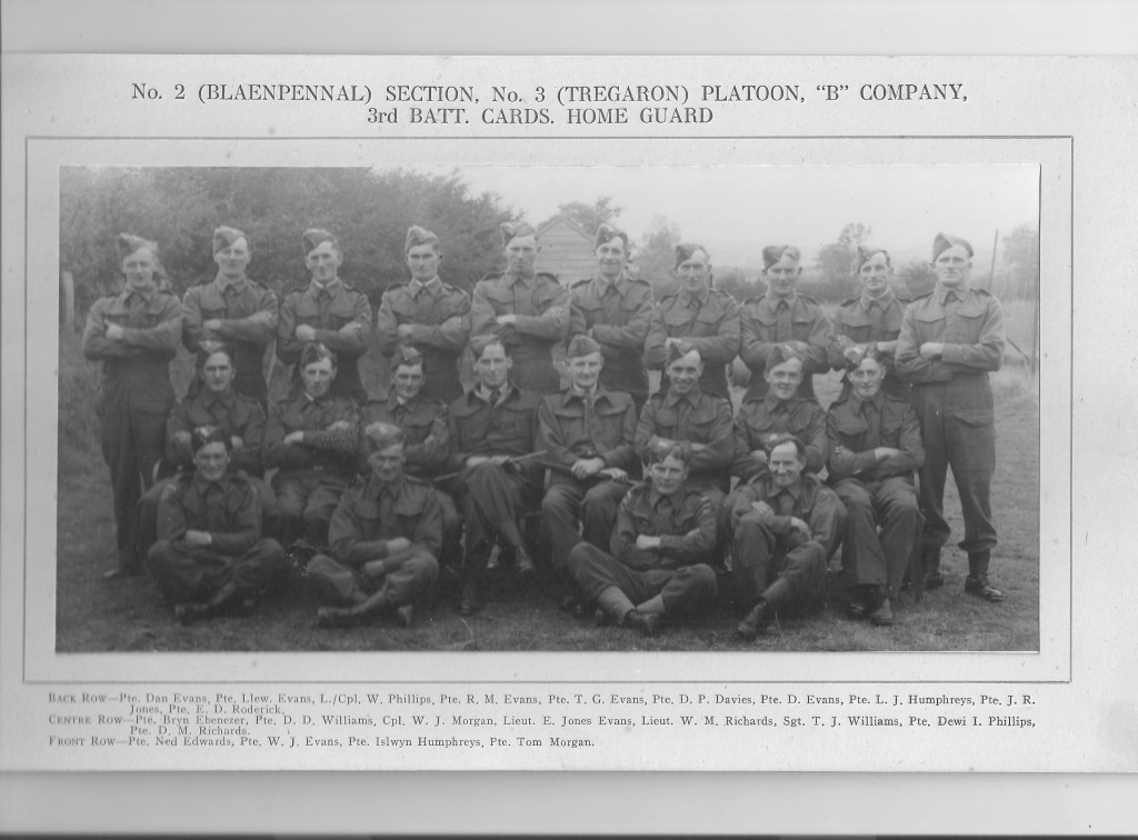 Home Guard Blaenpennal